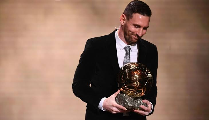 lionel messi dapat ballon d or 2019