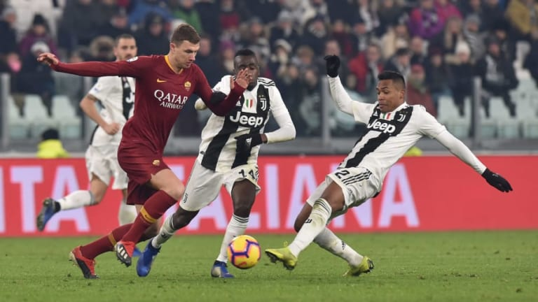 AS Roma vs Juventus 13 Januari 2020